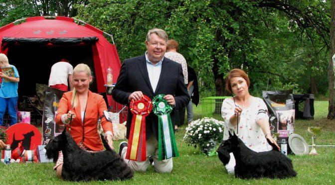 Erikoisnäyttely 21.7.2018 Kouvola: tulokset