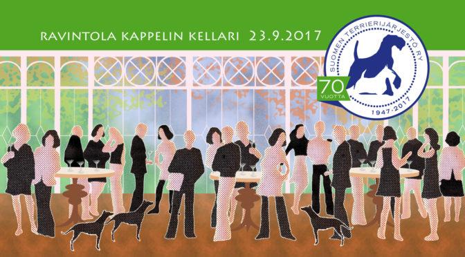 Suomen Terrierijärjestön 70-vuotisjuhlat 23.9.2017